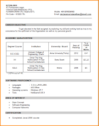 templates for freshers resume fresher resume template sles for freshers engineers mla citation