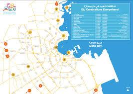Doha Qatar Map Things To Do This Eid Marhaba L Qatar U0027s Premier Information Guide