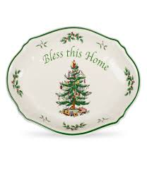 Spode Christmas Tree Santa Cookie Jar by Holiday U0026 Christmas Serveware Dillards