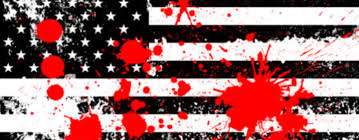 The America Flag The American Flag Is Soaked In Black Blood Greater Diversity News