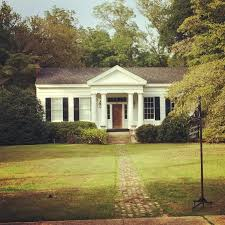 Southern Home Design by Perfect Little Greek Revival Home Livingston Alabama Exteriors