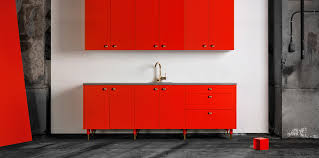 Red Ikea Kitchen - here you will find our fronts sides handles and legs for ikea s