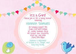 baby shower wording baby girl shower invitation wording free invitation ideas