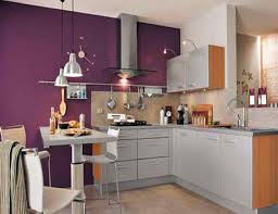 25 cool purple kitchen design ideas 2609 baytownkitchen stunning purple kitchen design with grey cabinet and hanging lamp