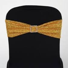 gold spandex chair covers spandex chair sashes discount linen efavormart