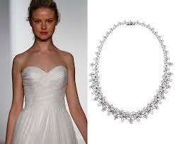 wedding dress necklace bridal jewelry tips bridal necklace dos don ts