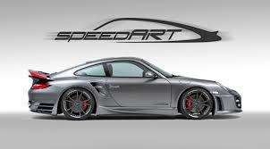 modified porsche 911 turbo speedart btr ii 650 evo based on porsche 911 997 turbo 2010