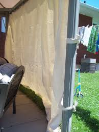 Gazebo Curtains Inexpensive Gazebo Privacy Curtains Sunshades Glorious
