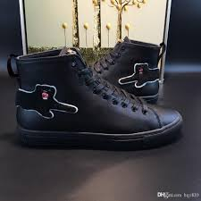 men fashion boots spring and fall luxury brand mens shoes italian
