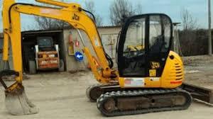 jcb 8052 midi excavator service repair manual sn1178000 onwards