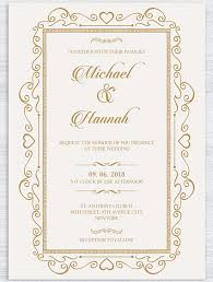 Single Card Wedding Invitations 10 Design Tips For Creating Amazing Wedding Invitations