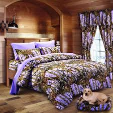 Purple Camo Bed Set 7 Pc Lavender Camo Comforter And Sheet Set Cal King Camouflage