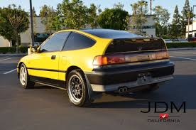 jdm rhd honda crx sir 1989 glass roof b16a dohc vtec imported from