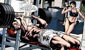 how much can batman lift batman comic vine