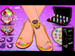 flower nails nails games for girls youtube
