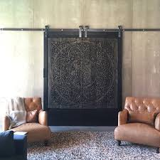 contemporary carved wood wall bed panel siam sawadee