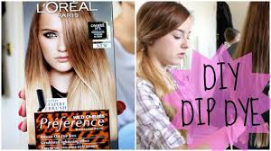 preference wild ombre on short hair how to diy natural hair dip dye ombre youtube