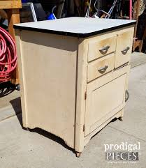 how to restore metal cabinets enamel cabinet makeover cottage style prodigal pieces