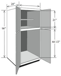 utility cabinets for kitchen tall base cabinets 96 h