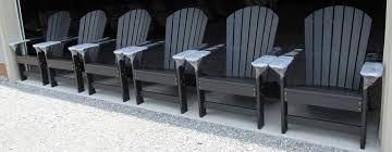 Grey Adirondack Chairs Lancaster Poly Patios Home