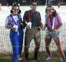 Halloween Costumes Nerd Easy Sew Diy Nerds Group Costume Halloween Costume Contest