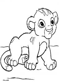 coloring page lion baby lion coloring pages kids coloring