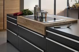 contemporary kitchen laminate island matte bondi leicht