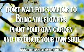quotes about planting your garden 20 quotes