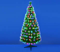 premier fibre optic led christmas tree with changing colours