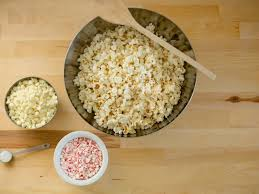 white chocolate martini white chocolate peppermint popcorn recipe for the holidays hgtv