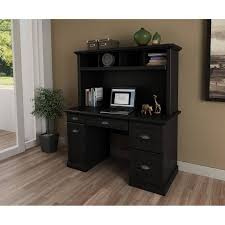 Walmart Office Desk Furniture by Better Homes And Gardens Desk And Leather Mid Back Office Chair