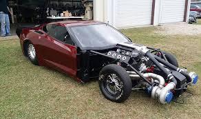turbo corvette turbo hemi c7 corvette shreds drag strips and brand loyalty