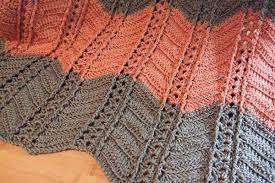 shell and post stitch ripple afghan afghans crocheted my
