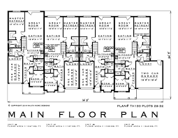 pictures on townhouse plans with photos free home designs