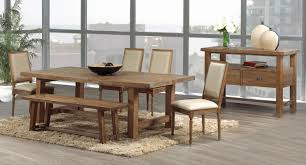 bench rustic dining table sets 2 awesome rustic dining bench