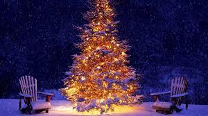 falling snowflake christmas lights snowing christmas tree hd 10 hours youtube