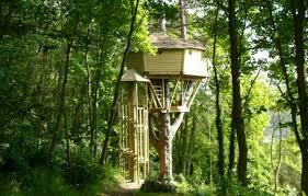 chambre cabane dans les arbres cabane dans les arbres les cabanes de cécile à etretat seine