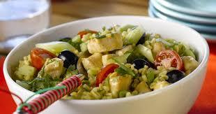 comment cuisiner le blé recette salade de blé au poulet 750g
