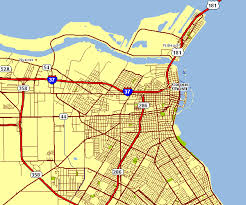 map of corpus christi city map of corpus christi