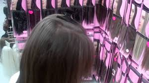 clip in hair extensions demo by xtras
