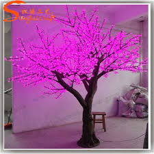outdoor lighted cherry blossom tree 10ft outdoor life size artificial led light cherry blossom trees in