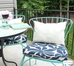 diy chair cushions how to make simple sew chair cushions diy patio