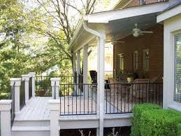 decorate a covered back porch with a pine theme bonaandkolb