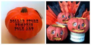 Folk Art Halloween Decorations Jennuine By Rook No 17 How To Make Halloween Folk Art From