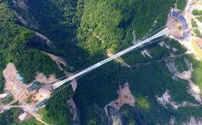 Beach Of Glass New Glass Bridge Opens In China Travel Leisure