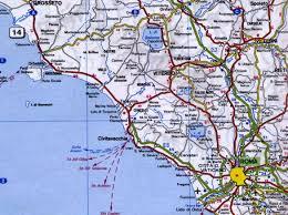 Orvieto Italy Map by Mapas