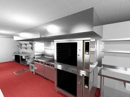 Restaurant Kitchen Layout Ideas Restaurant Kitchen Layout 3d