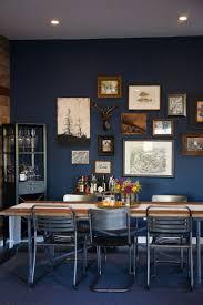 25 Best Dark Blue Kitchens Navy Blue Dining Room Home Design Ideas