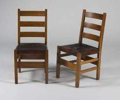 Stickley Dining Room Furniture Gustav Stickley Dining Table And 6 Chairs
