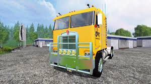 kenworth k100 kenworth k100 cat for farming simulator 2015